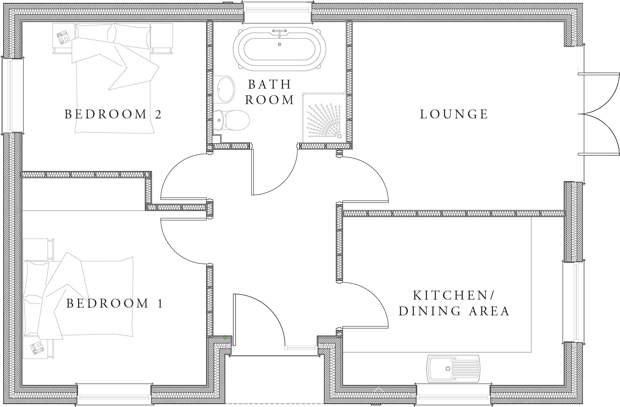 Floor Plan Plot 3
