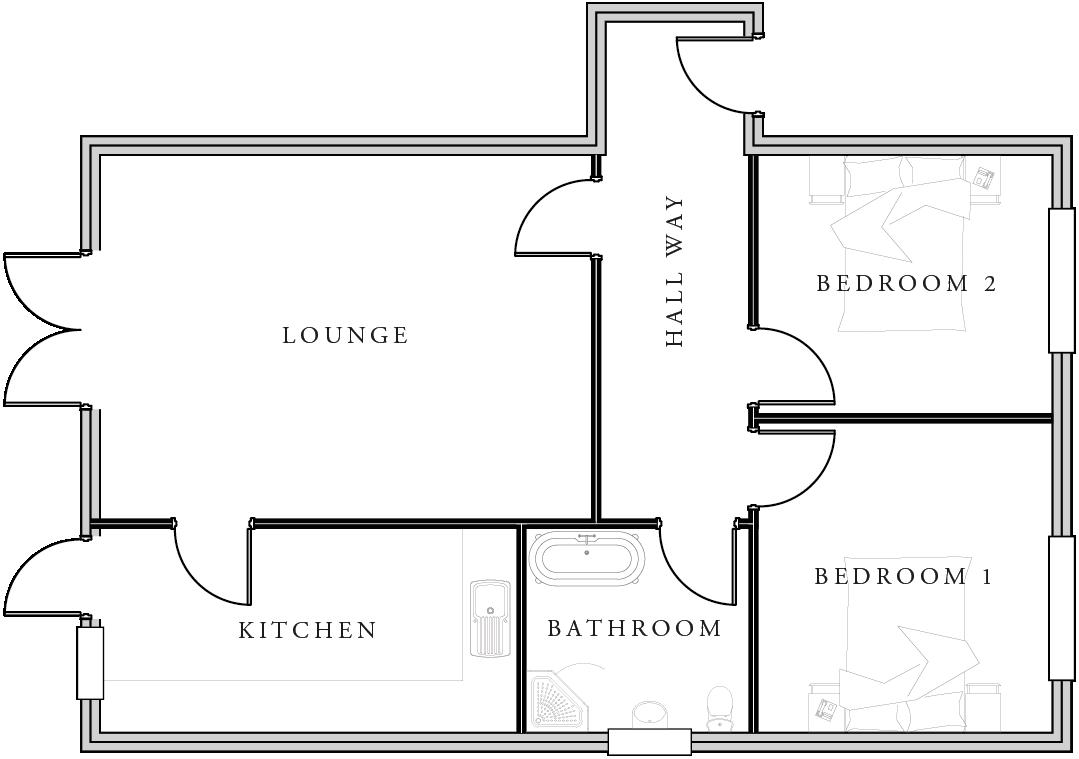 Floor Plan Plot 2